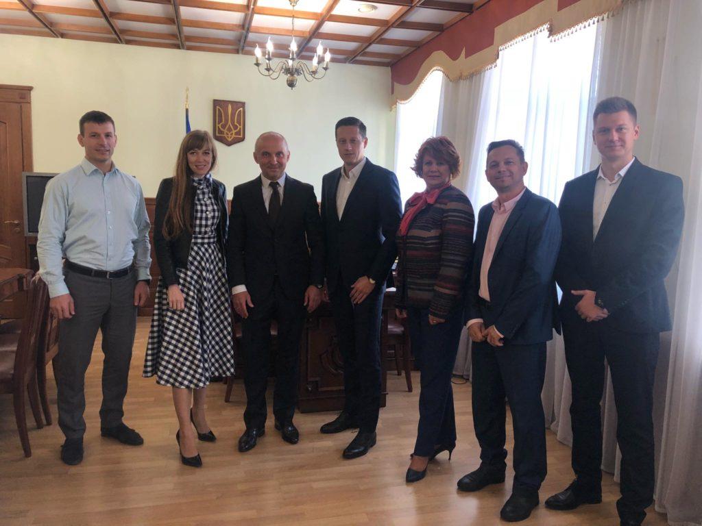 Золтан Хорват обговорив можливості співпраці з директором Держенергоефективності України