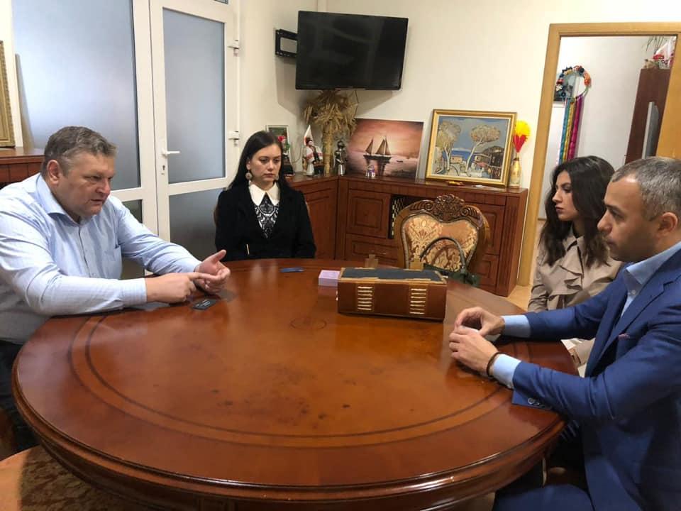 Сергій Гайдайчук та Вікторія Запара відвідали Почесне консульство Угорщини в Івано-Франківську